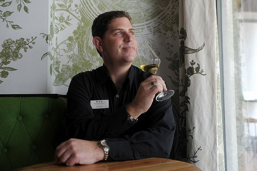 About 240 bottles of wines from Australia's The Truffle & Wine Co will be available in Singapore, says its wine manager Stuart Hutchinson (above).