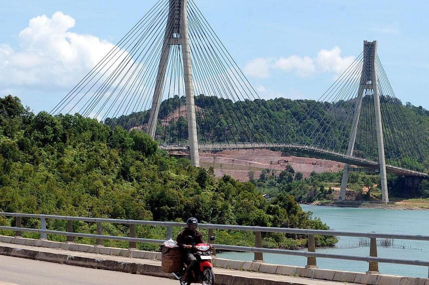 Rempang, which is linked to Batam by a road bridge, and Bintan are an hour's ferry ride from Singapore.