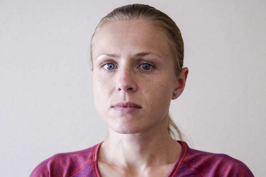Russian whistleblower Yuliya Stepanova pictured on July 28, 2016, at an undisclosed location.