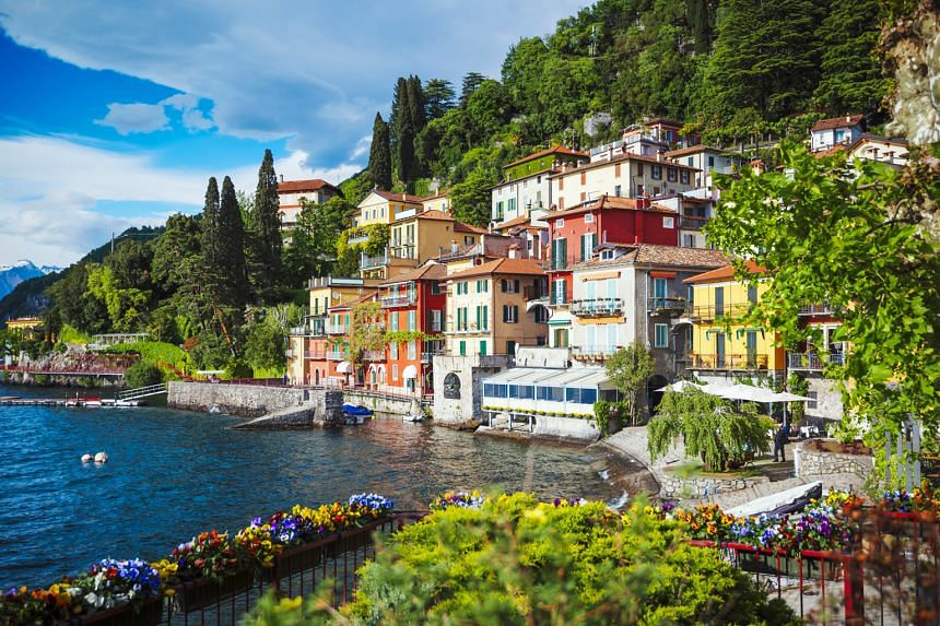 Lake Como is one of the deepest in Europe and has a 170km shoreline.