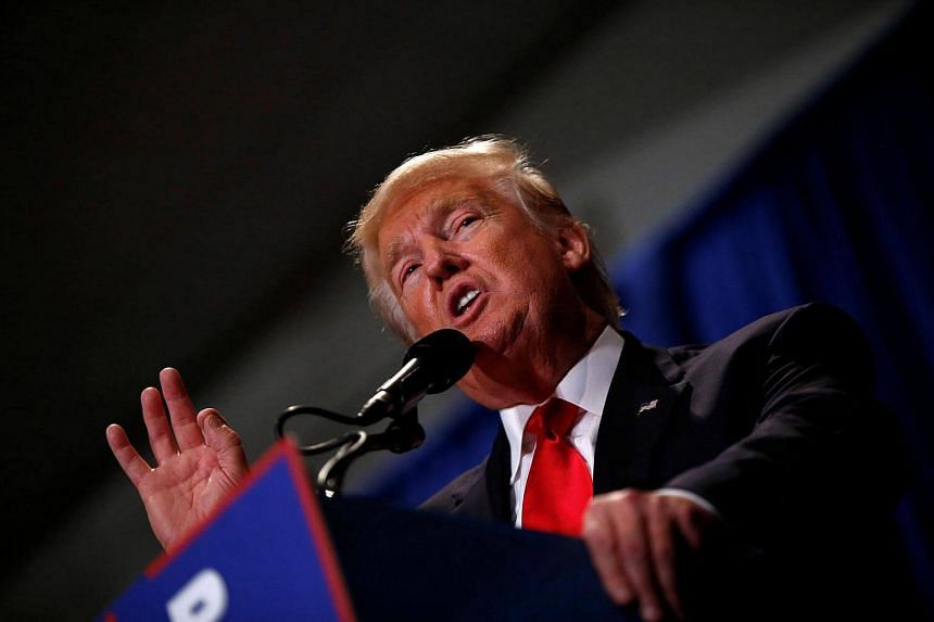 Republican US presidential nominee Donald Trump attends a campaign rally in Altoona, Pennsylvania on August 12.