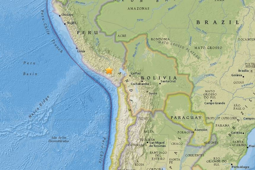 At least four people were killed and 40 injured after a 5.2-magnitude earthquake struck southern Peru on Aug 15, 2016.