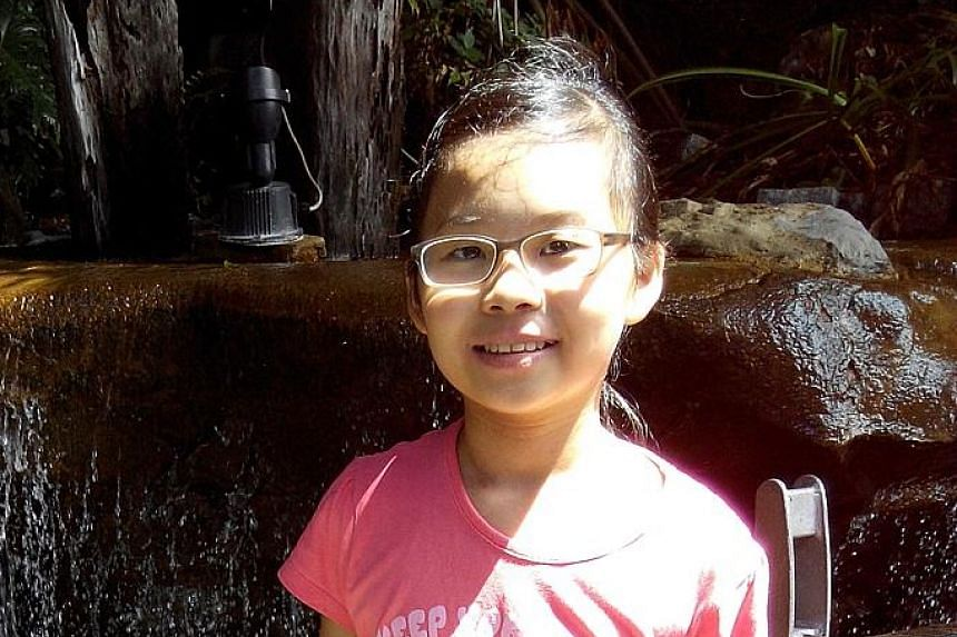 Denisse Kong, 11, diagnosed with JIA when she was nine, now injects herself with biologics, once every four days.