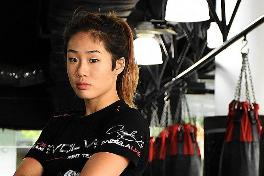 Seeing how other MMA organisations' belts have changed hands a lot, Angela Lee is determined to retain her One atomweight title.