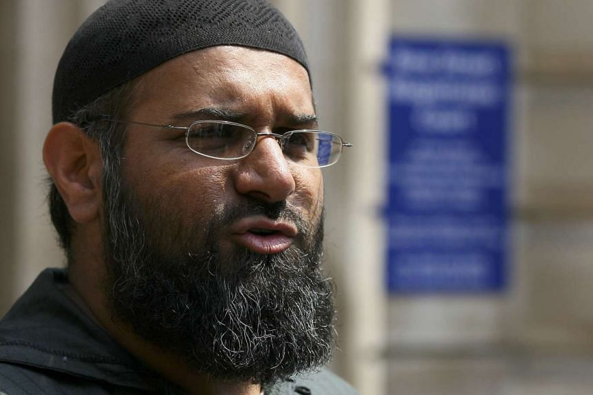 Anjem Choudary in a 2006 file photo.