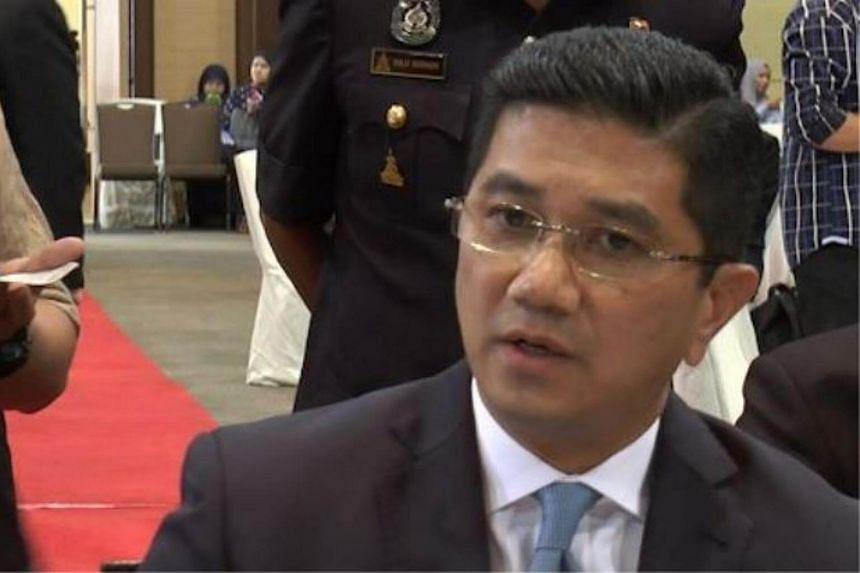 Datuk Seri Mohamed Azmin Ali.