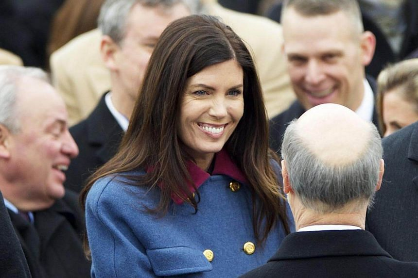 File photo of Pennsylvania Attorney General Kathleen Kane seen at the State Capitol in Harrisburg, US, on Jan 20, 2015.