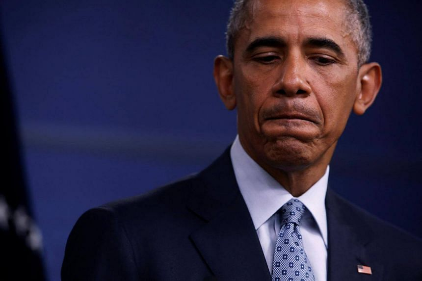President Barack Obama urged Democrats on August 15 not to grow too confident about their prospects in the 2016 election despite Mrs Hillary Clinton's strong position in the race for the White House.
