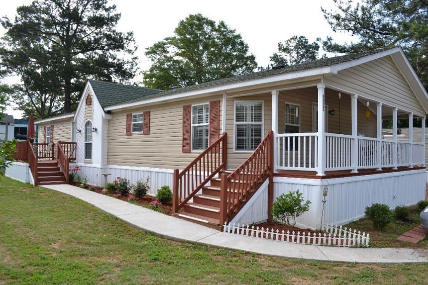 The exterior of a Yes! Communities manufactured home. PHOTO: YES! COMMUNITIES