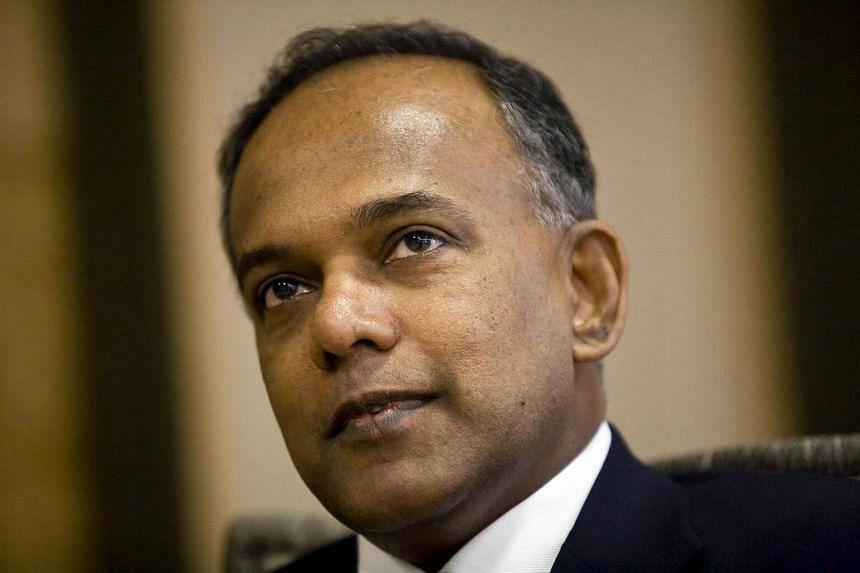 Law minister K. Shanmugam has rapped the British High Commission for improper comments.