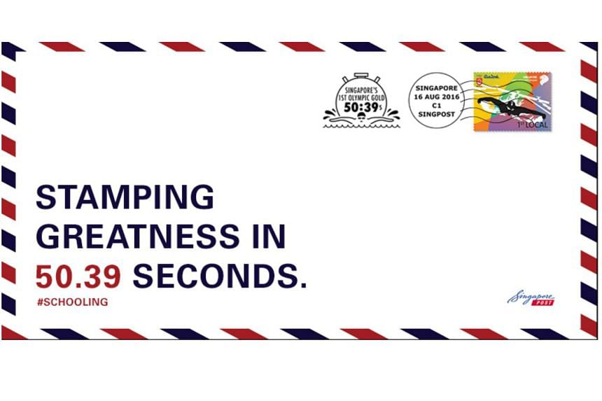 One of SingPost's commemorative postmarks.