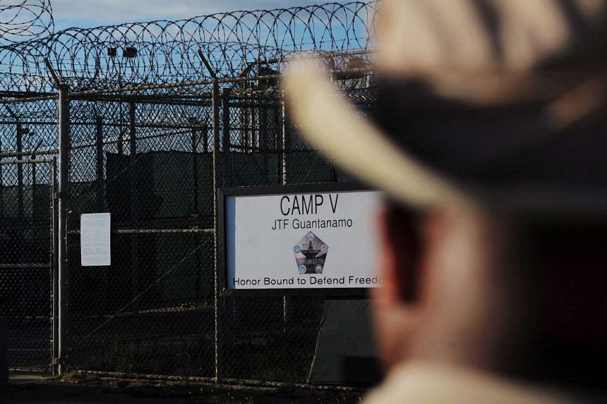 The outside of Camp Five, a notorious detention facility in Guantanamo Bay, Cuba.