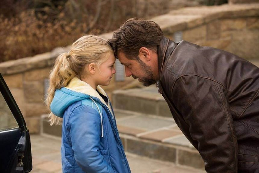 A still of Fathers & Daughters, a 2015 movie which stars Russell Crowe.