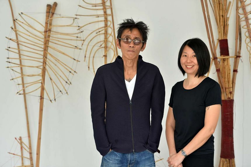 National Art Council appoints artist Zai Kuning (left) and curator June Yap to represent Singapore at the 57th Venice Biennale.