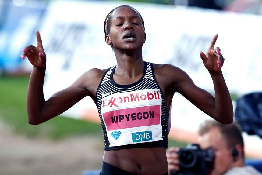 Kenya's Faith Kipyegon won the women's Olympic 1,500m gold.