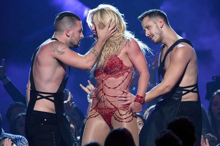 Britney Spears performs at the 2016 Billboard Music Awards in May 2016.