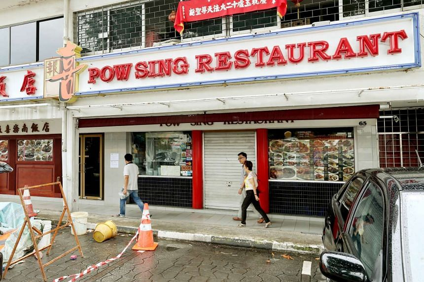 Pow Sing Restaurant and nearby Pow Sing Kitchen were closed in July due to food poisoning incidents.