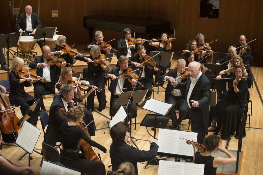 The Chamber Orchestra Of Europe at the Lucerne Summer Festival 2014.