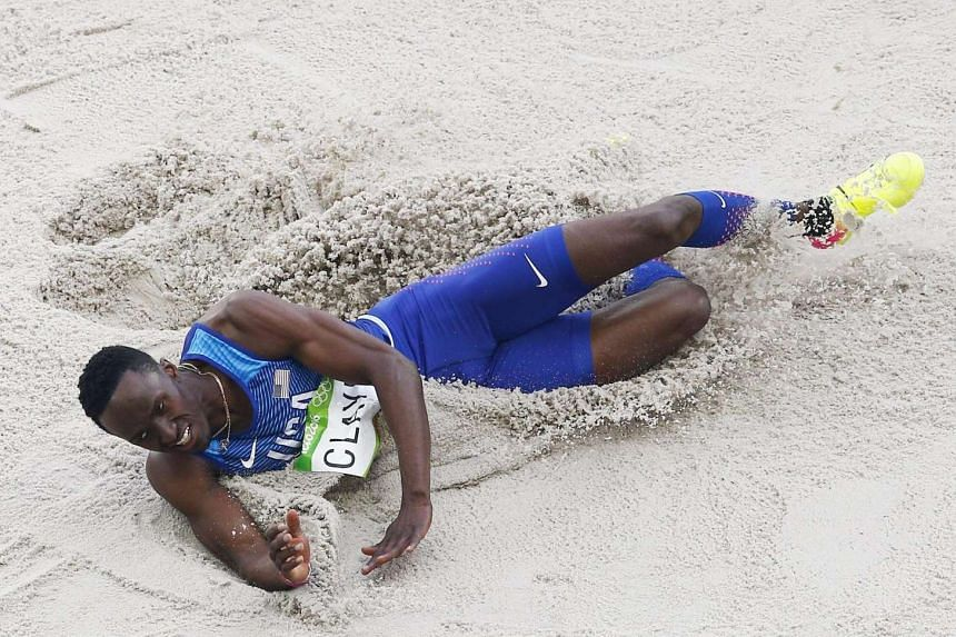 Will Claye of the USA competes during the men's Triple Jump final of the Rio 2016 Olympic Games Athletics, Track and Field events on August 16.
