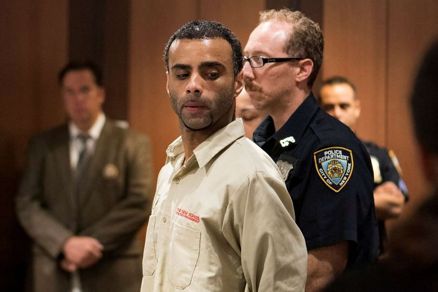 Oscar Morel appears for an arraignment at the Queens Criminal Court on Aug 16, 2016.