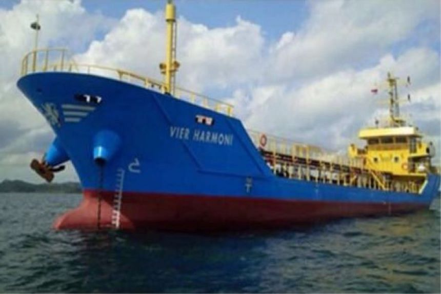 The ship was carrying diesel with an estimated value of RM1.57 million (S$529,000).
