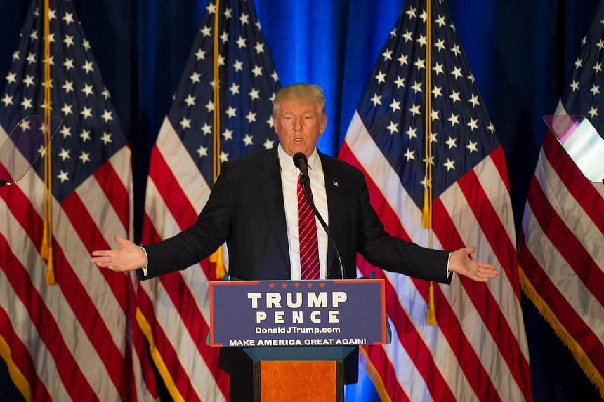 Republican candidate for President Donald Trump holds a campaign event at the Kilcawley Center at Youngstown State University on August 15.