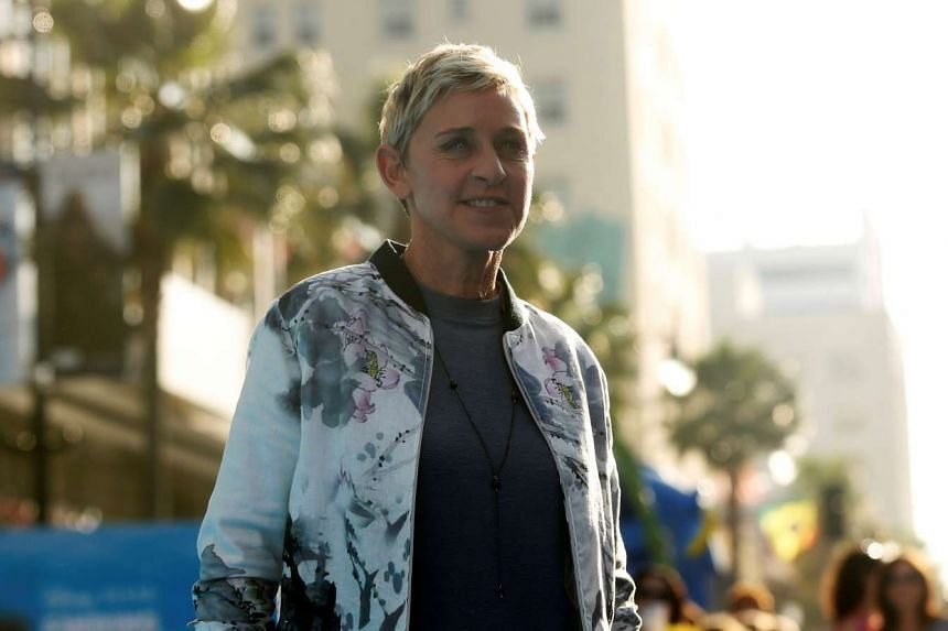 Ellen DeGeneres at the premiere of Finding Dory at El Capitan theatre in Hollywood, California, on June 8, 2016
