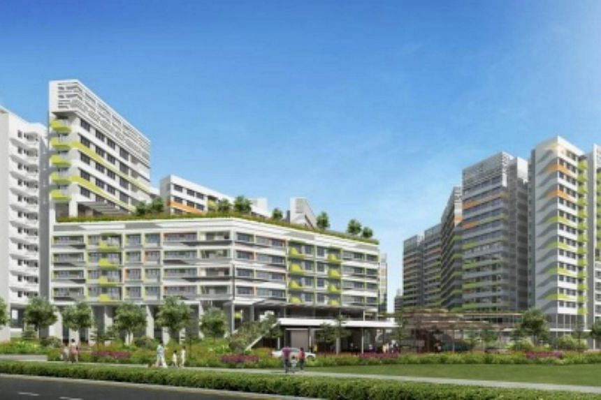 Artist impression of Tampines GreenVerge.