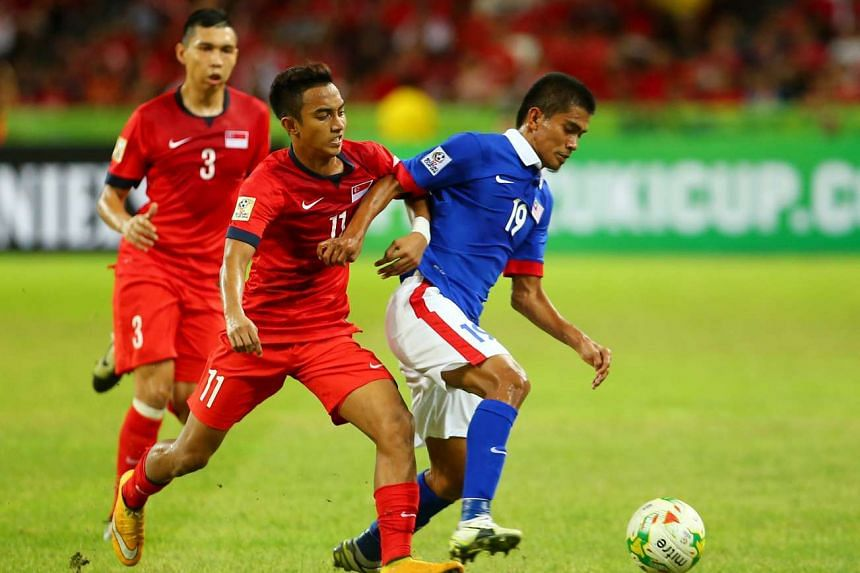 Singapore and Malaysia will be playing at the National Stadium on Oct 7.
