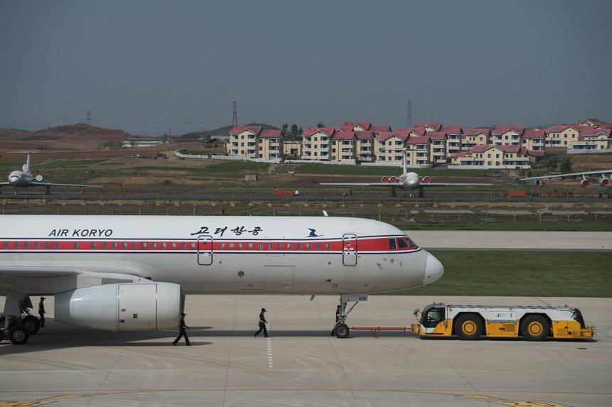 A fire forced a flight from North Korean flag-carrier Air Koryo to land in Shenyang last month.
