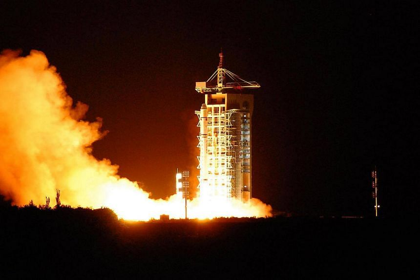 China's quantum satellite blasts off from the Jiuquan satellite launch centre in China's northwest Gansu province on August 16.