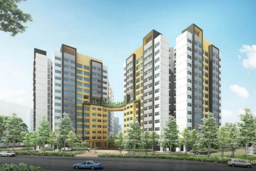 Artist impression of Valley Spring @ Yishun.