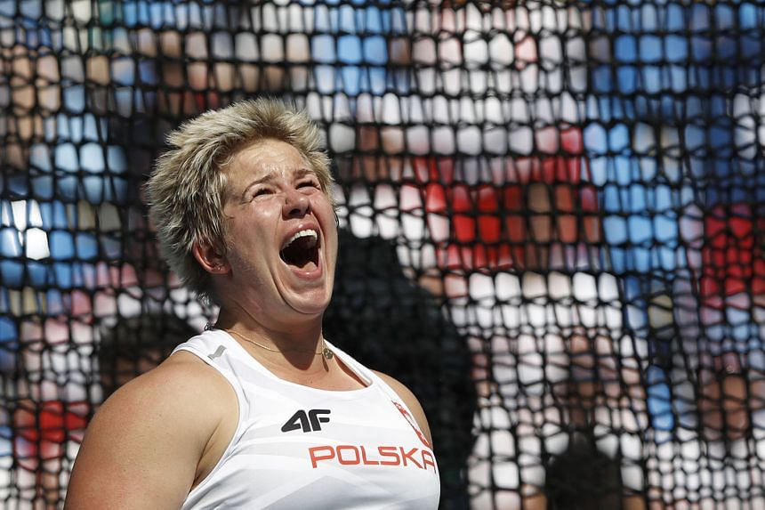 Poland's Anita Wlodarczyk rewrote her own world record in the hammer throw with a distance of 82.29m. Having settled for silver at the 2012 Olympics, she came to Rio with a 28-meet unbeaten streak that began in 2014.