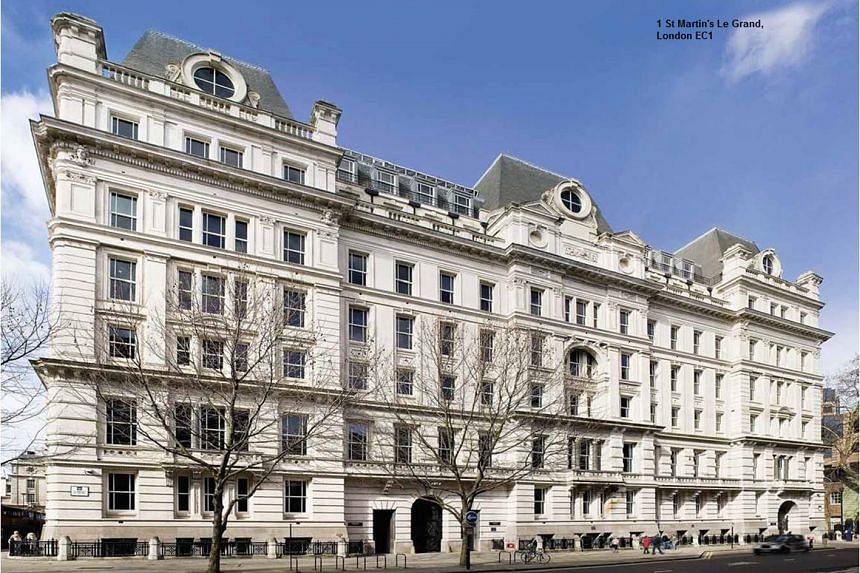 1 St Martin's Le Grand, a freehold property in the heart of London.