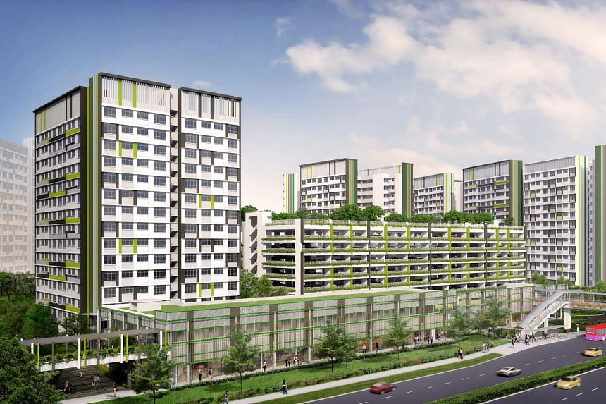 Property consultants are expecting keen interest for some 4,841 HDB BTO flats launched for sale on Wednesday, especially for the flats at Tampines GreenVerge and Tampines GreenView.