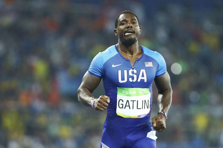 Bolt's American rival Justin Gatlin finished third in his semi-final in 20.13s and missed out on the final.