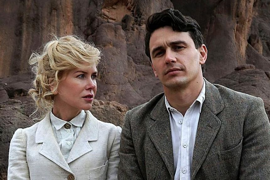 Two studios have identified more than 500 Singapore Internet protocol addresses through which the movies Queen Of The Desert (above) and Fathers & Daughters were allegedly downloaded illegally.