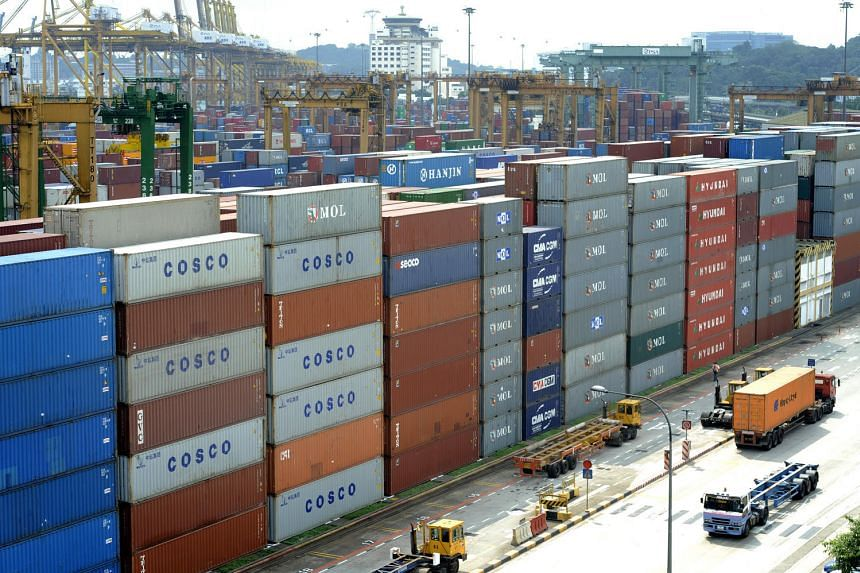 Decreased global demand for Singapore's exports leave Singapore's exporters struggling.