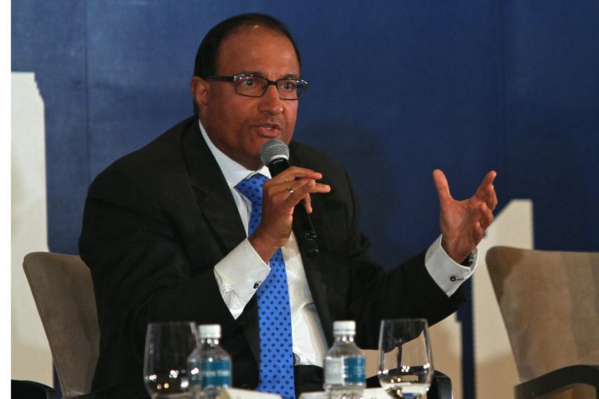 Minister for Trade and Industry (Industry) Mr S. Iswaran speaking at an event on May 31, 2016.