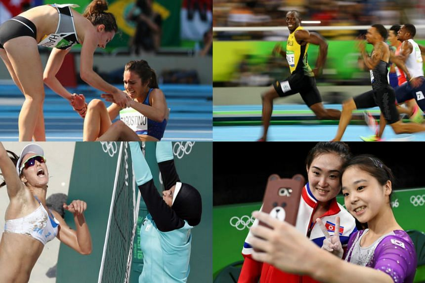 Some the best of the photos that have been captured over the duration of the Games so far.