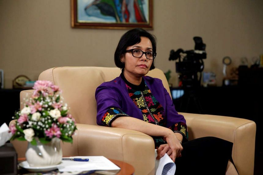 Indonesian Finance Minister Sri Mulyani Indrawati gestures during an interview with Reuters at Finance Ministry office in Jakarta on Aug 19, 2016.