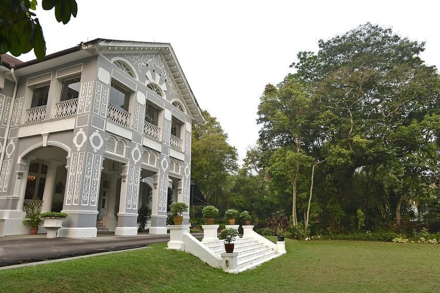 The two sites clinched by OUE are in the approved White House Park-Nassim Road conservation area and adjacent to Eden Hall (left), the official residence of the British High Commissioner and a conservation bungalow.