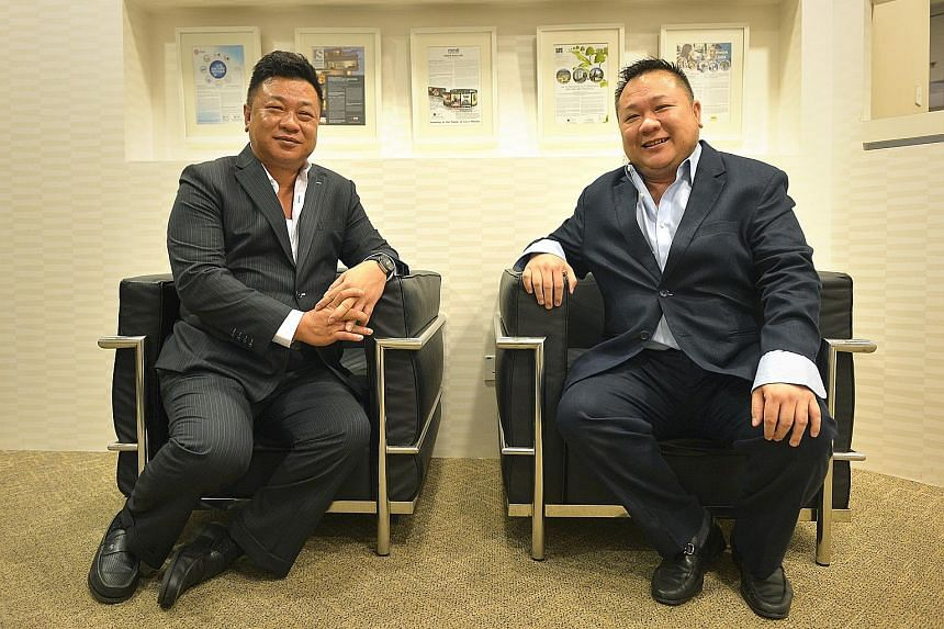 AGV, founded in 2012 by Mr Albert Ang (left) and his brother James, saw revenue grow from $15.3 million in 2013 to $18.8 million last year. It specialises in hot-dip galvanising, which makes iron or steel resistant to corrosion for 20 to 50 years.