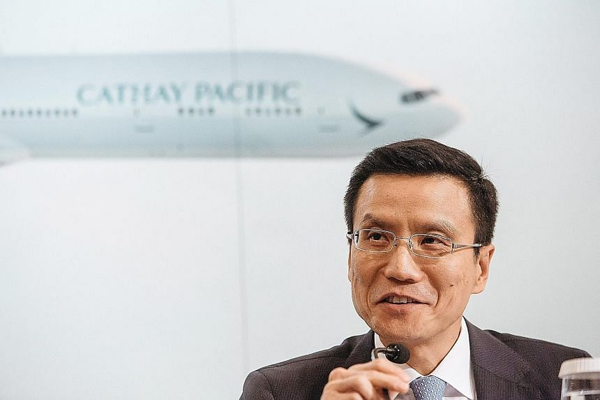 Mr Chu, Cathay Pacific's CEO, is under pressure to revive the airline's earnings. Cathay's shares have lost about 25 per cent of their value since he took over more than two years ago. This slump comes amid expansion into Asia by Middle Eastern airli