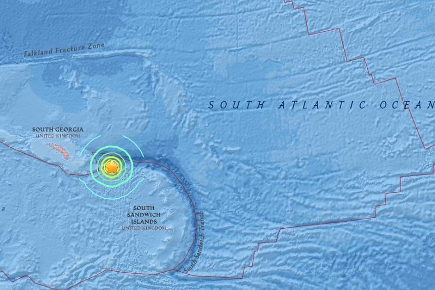 A 7.4-magnitude earthquake shook the southern Atlantic Ocean early Friday (Aug 19), according to the US Geological Survey.