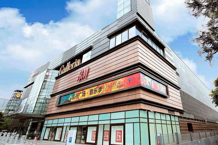 Galleria is CRCT's 11th in the country and its first in Chengdu.