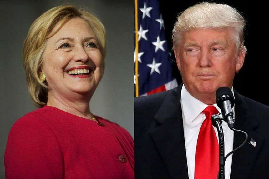 Hillary Clinton (left) and Donald Trump are scheduled to appear on the same stage early next month at a commander-in-chief forum.