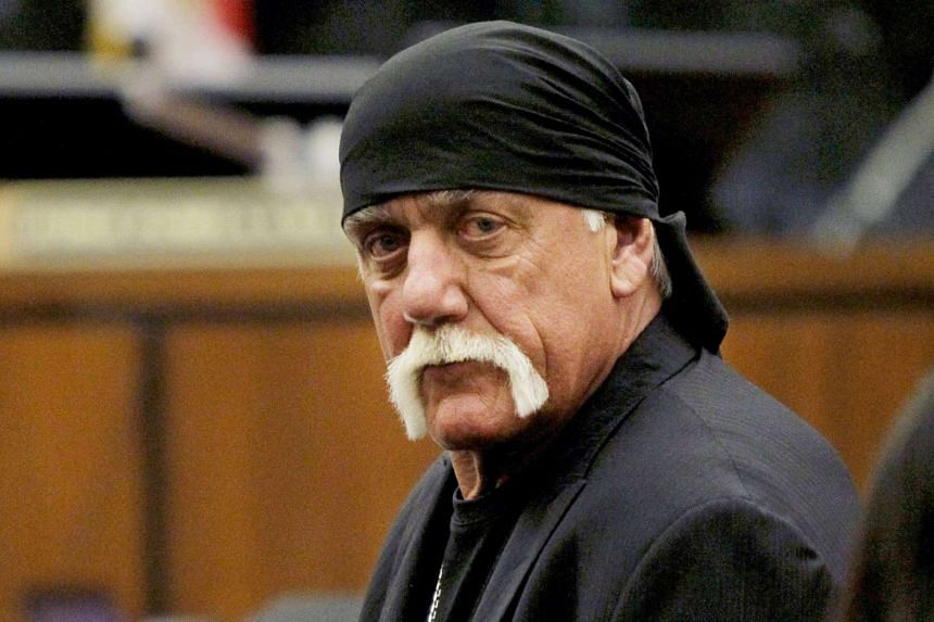 Gawker was ordered to pay US$140 million (S$187 million) to retired wrestling star Hulk Hogan (above) for releasing a sex tape.