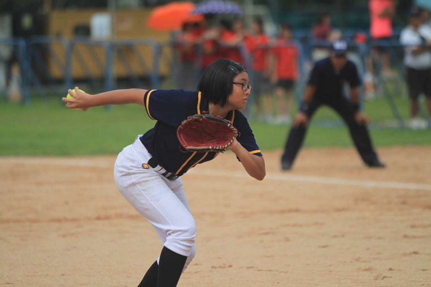 MGS pitcher Rachel Yoong hopes to make the national team and have a career in softball.