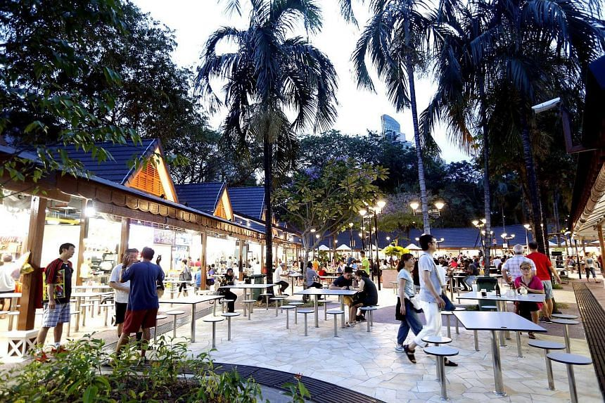 A 40-year-old man has been arrested for his suspected involvement in a hit-and-run accident at Newton Food Centre.